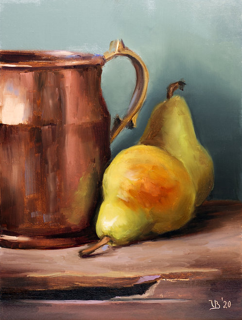 Copper and Pears