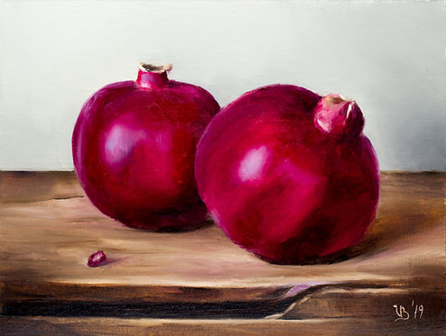 Two Pomegranates