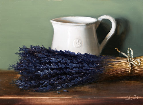 Alex Reynis Pitcher and Lavender
