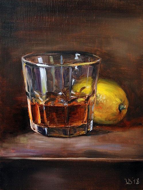 Whiskey And Lemon