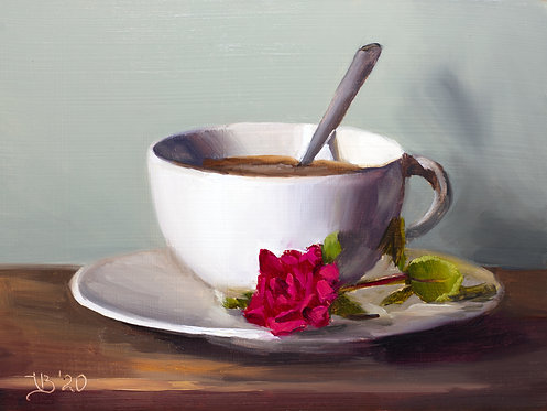 Red Rose and Coffee