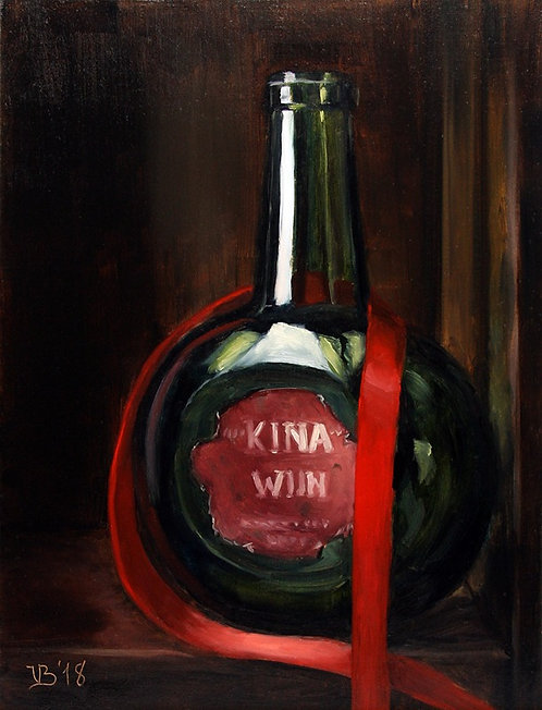 Old Dutch Wine Bottle