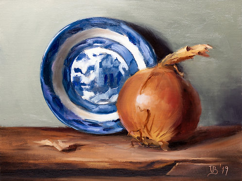 Blue Willow and Onion