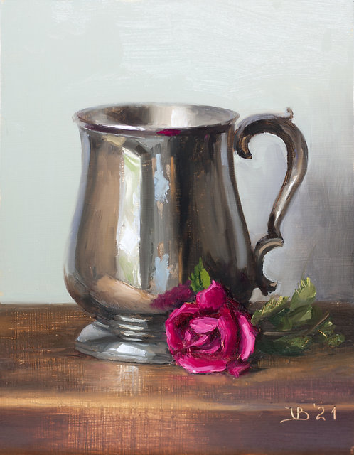 Tankard and Rose