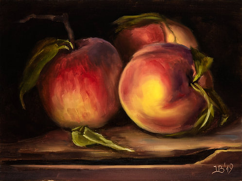 Three Peaches in the Dark