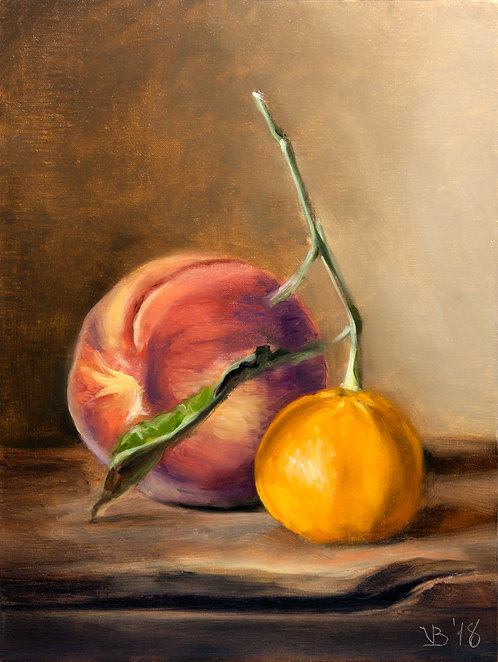 Peach and Mandarin