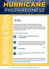 Hurricane Preparedness 2019 - DukeEnergy
