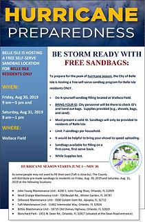 Hurricane Preparedness 2019 - Free Sand
