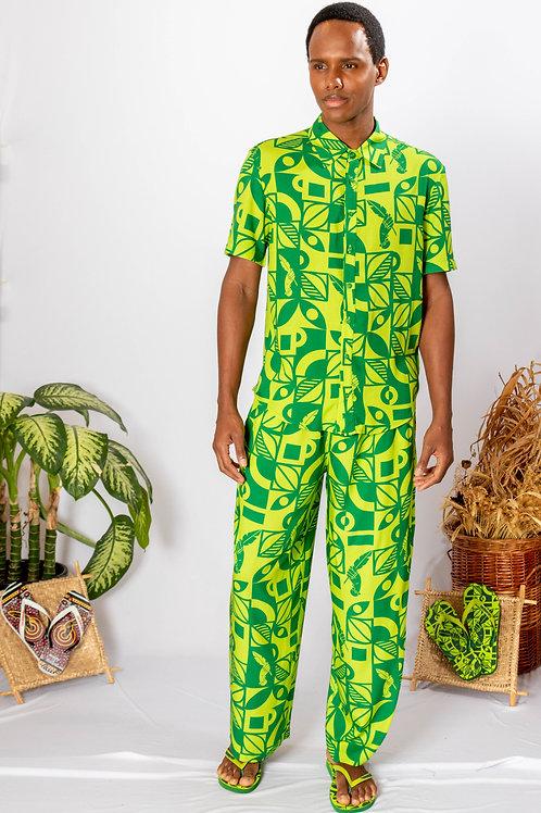 Camisa Axé Boca da Mata verde