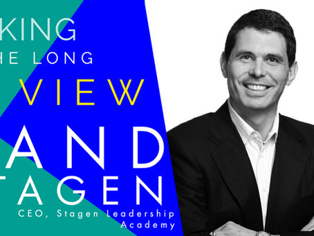 Episode #26: Rand Stagen - Leaders get the Organisations they Deserve