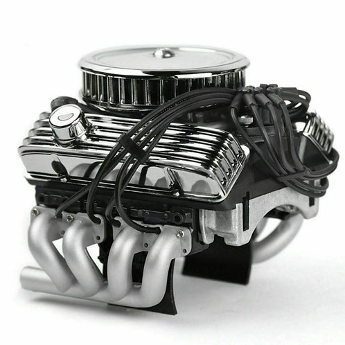 1/10 scale V8 Engine (Dual Cooling Fan)