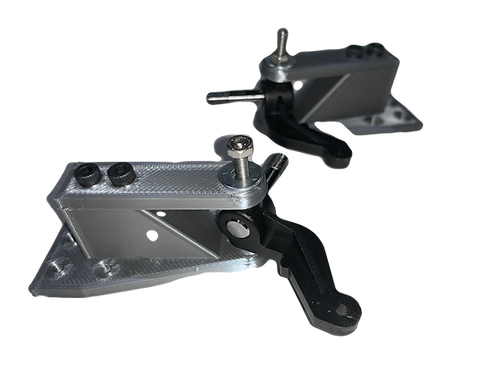 1/10 Sniper Series Steering A-arms With Steering Blocks