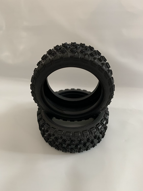 12mm Hex Rubber DemoTires (Set of 2)