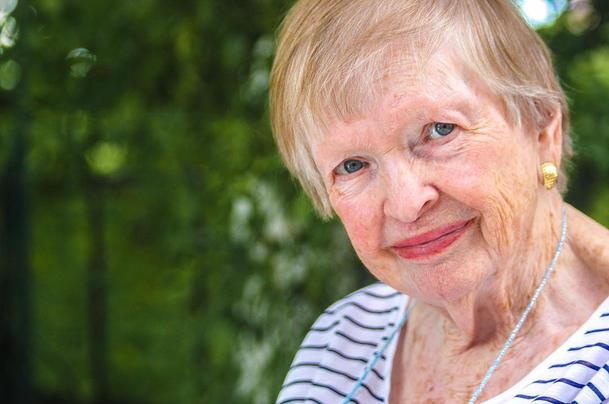 Grandma Jackie, 95