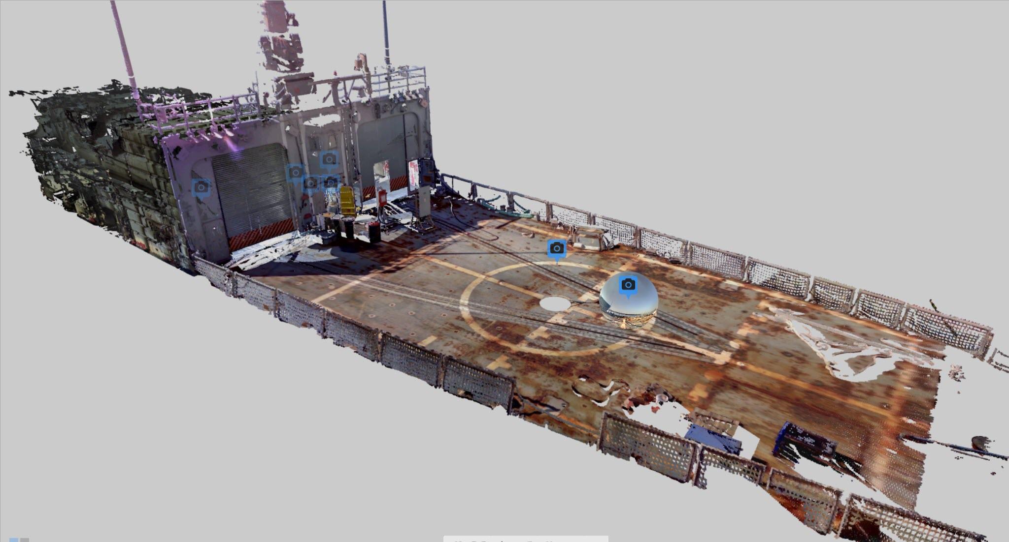 USS Roberts 360 Demo