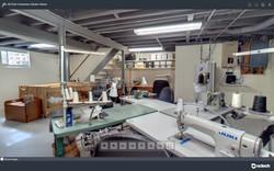 Custom Home Furnishing Workroom