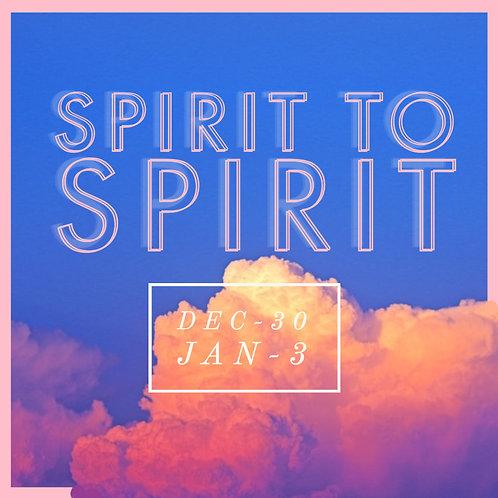 (Spirit to Spirit Conference)MP3