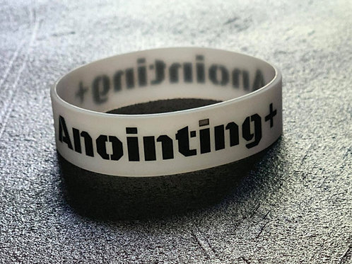 Anointing + glow in the dark wrist band