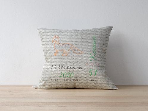 вышивка детских подушек