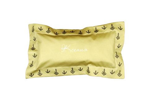 постельное белье на заказ с вышивкой