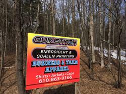 printed billboard