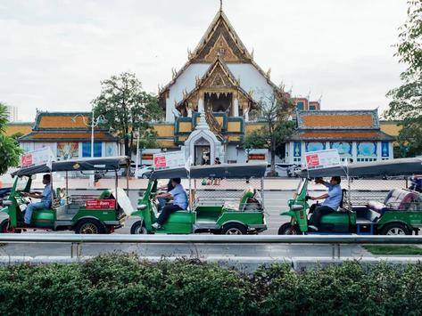 Как да стигнем от летището до центъра на Банкок