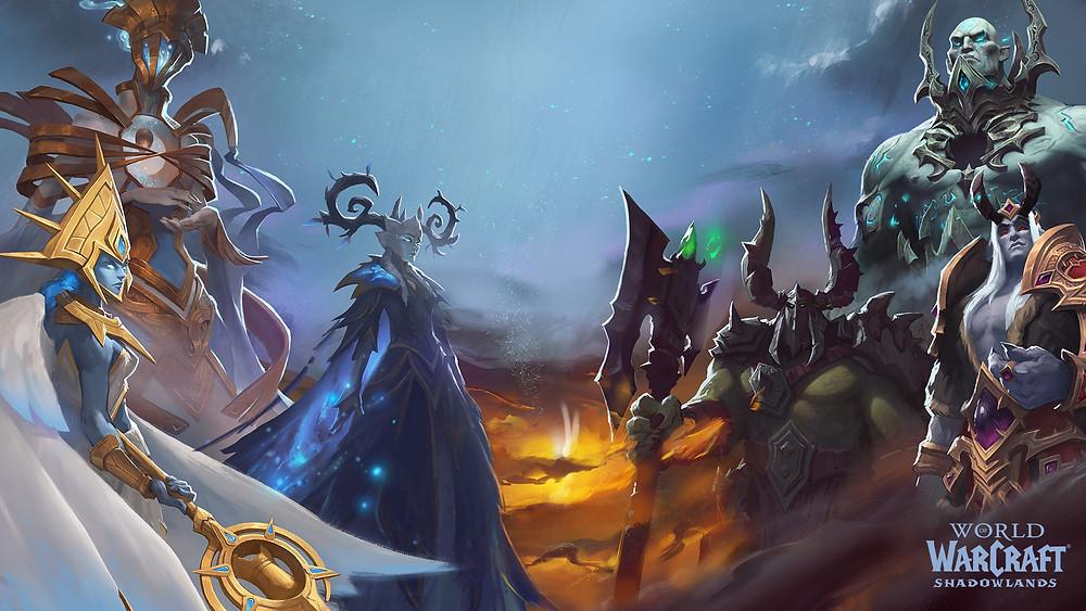 Shadowlands: Митик плюс сезон 1