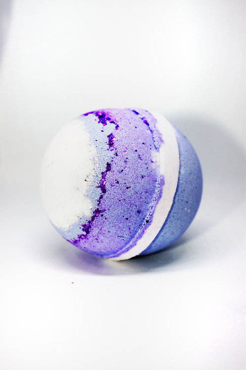 Purple Sugar Bath Bomb