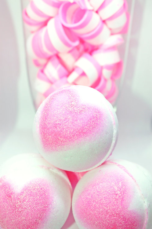 Hearts of Love (Color Embeds) - Bath Bomb (Pack of 25)