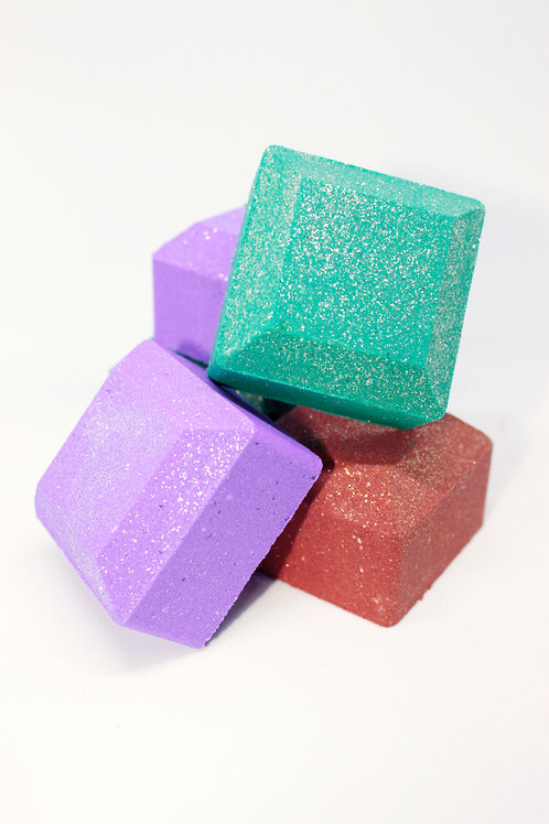 Bubbling Gemstone Bath Bombs (25 pack)