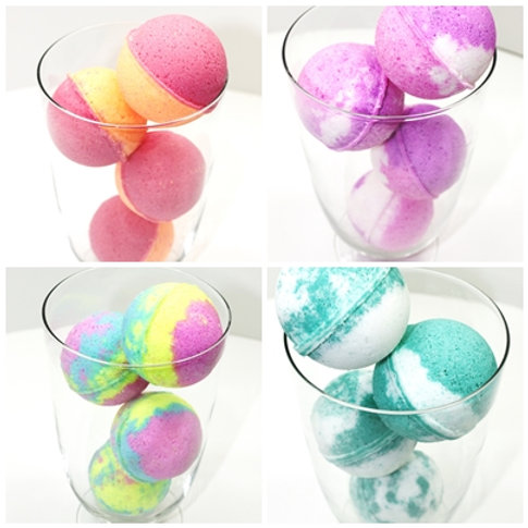 50 Bath Bombs - Choose your Fragrances