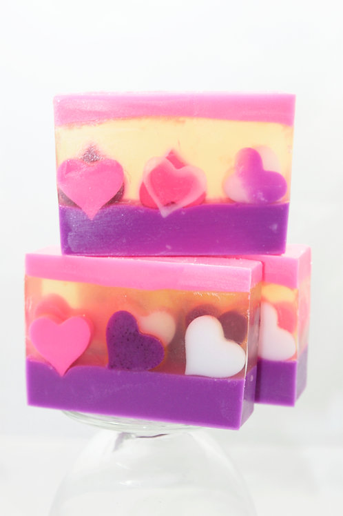 Love Spells Soap Loaf