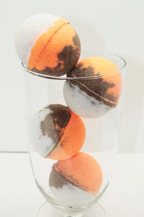 Mandarin Coconut - Bath Bomb 50 pack
