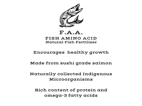 Salmon FAA (Fish Amino Acid)