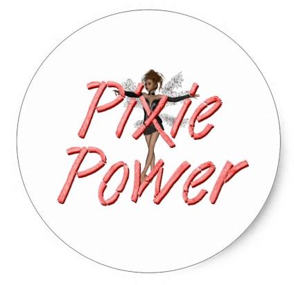Pixie Power Sticker