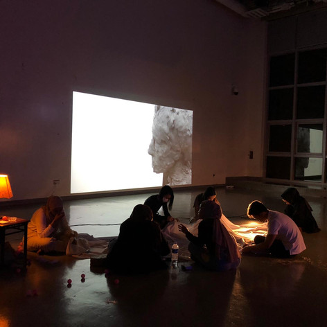 Image+Body, exhibition and performance, Nanyang Academy of Fine Arts, 24 October 2018.