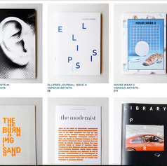 ellipsis journal (Issue A) at Good Press (Glasgow, Scotland)