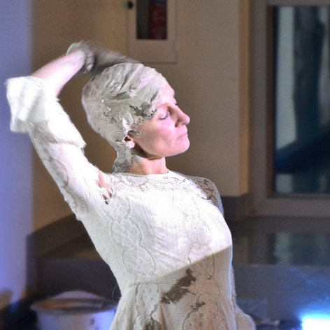 Detail: Andrée Weschler, The Forgotten, video and durational performance, 2018.