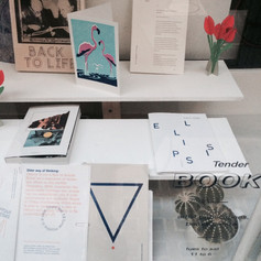 ellipsis journal (Issue A) at Tender Books (London, UK)