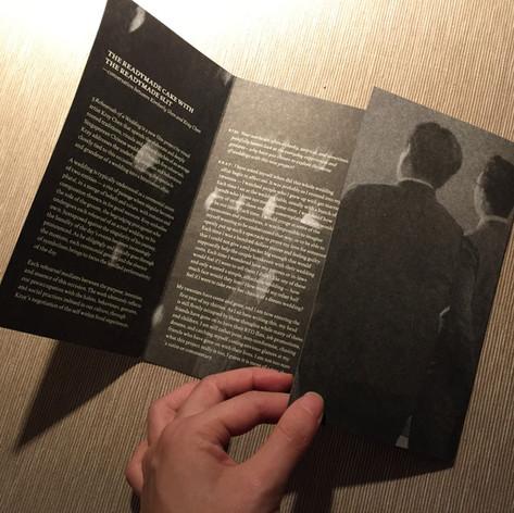 Exhibition handout: 5 Rehearsals of a Wedding
