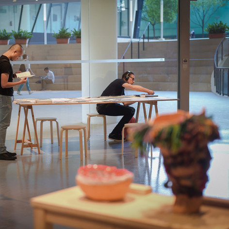 The Art Incubator 6: Residency as method, Exhibition view, Institute of Contemporary Arts Singapore, 2015.