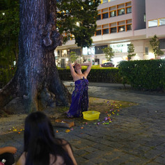 Surrender, performance by Sharda Harrison in response to Dancing Alone (Don't Leave Me)
