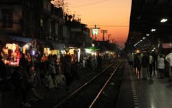 The Wongwianyai Train Station