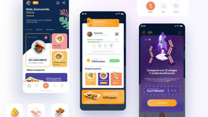 Restaurant Coupon Reward XD App