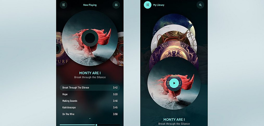 Download this template if u want a fancy music app ui kit for your next project