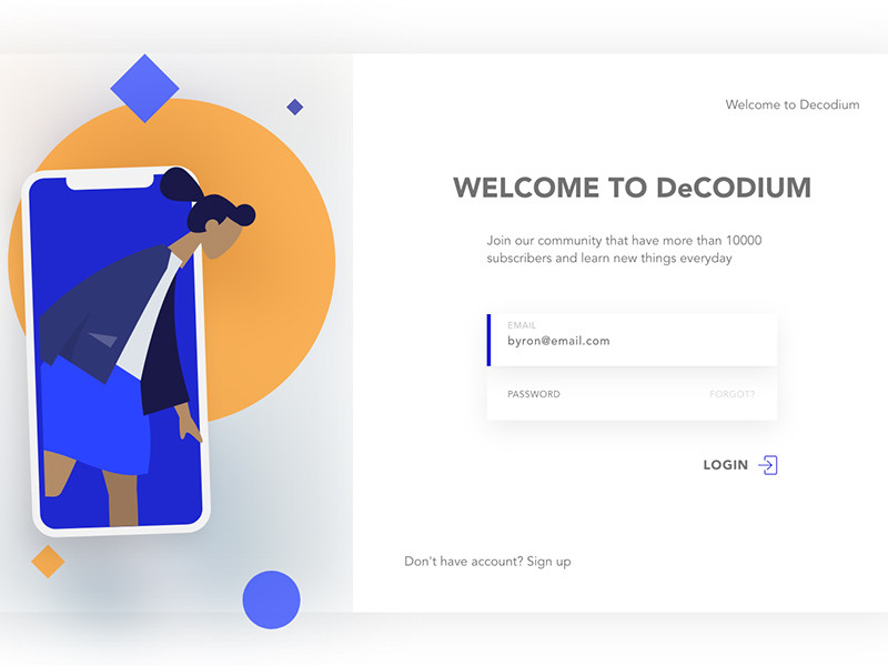 Download this template if u want a fancy website login screen resource for your next project