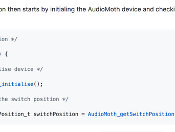 The online code is now annotated!