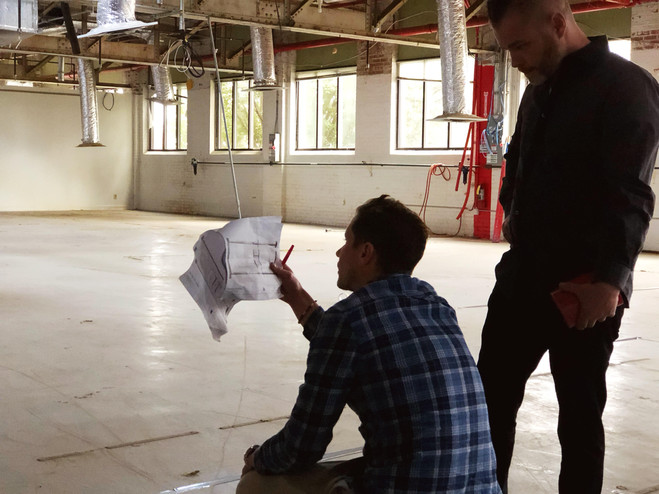Miken Developers Laying Out Loft Floorplans