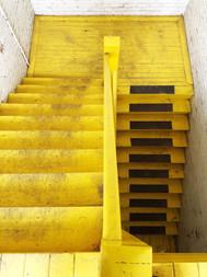 Original Second Story Stairs