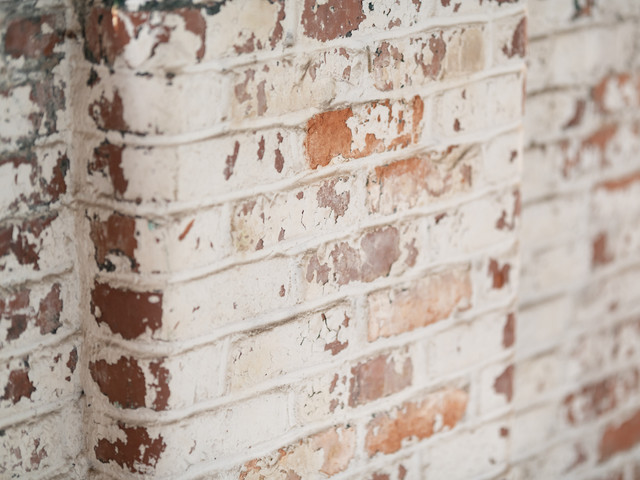 Exposed Brick Details Within Park Central Lofts